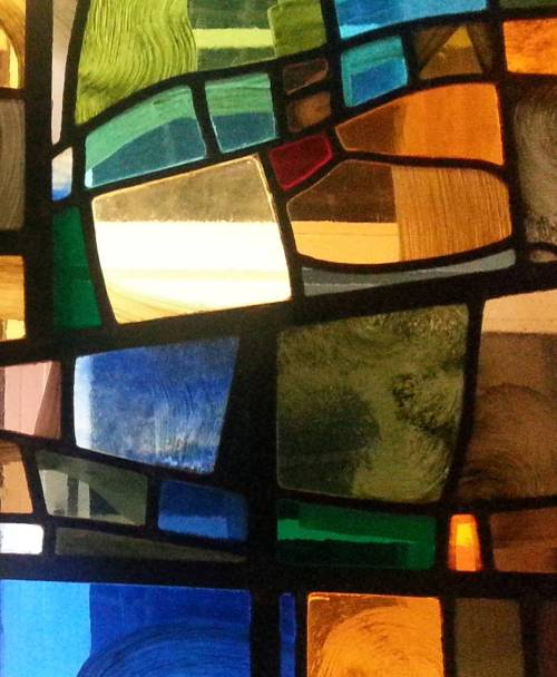 Finding Holy Stained Glass