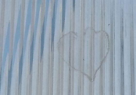 Heart Signature -  Leaf Print