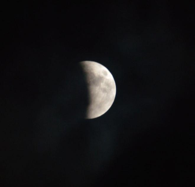 Moon Eclipse Starts