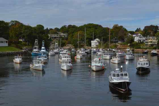 Yes - Perkins Cove boats