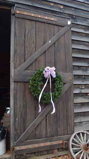 History - Barn door