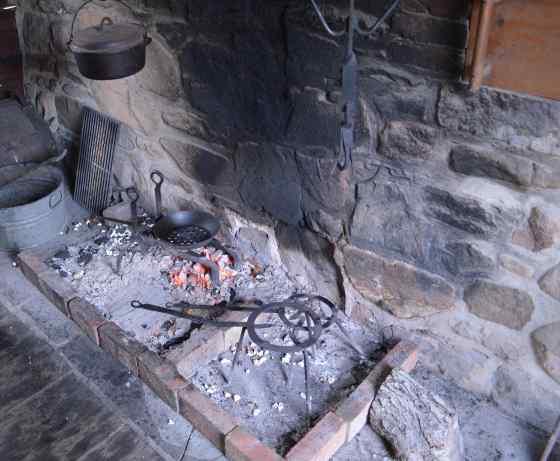 History - kitchen hearth
