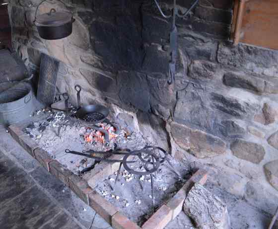 History - kitchen hearth