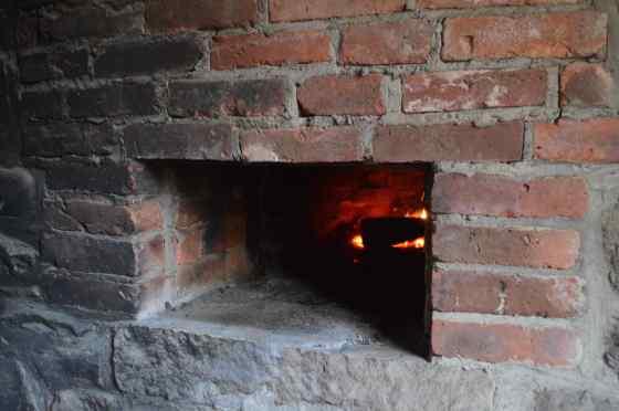 History - kitchen oven